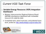 current vgs task force1