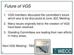 future of vgs
