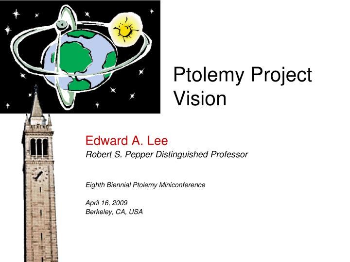 ptolemy project vision n.