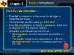free fall acceleration1