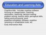 education and learning aids
