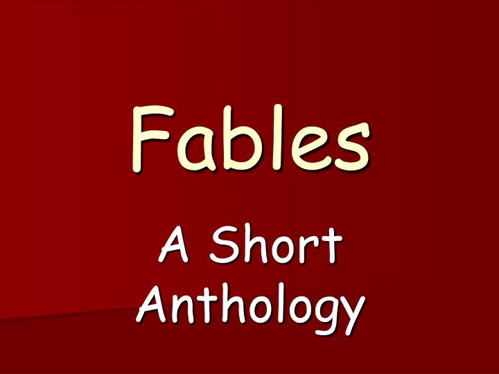 fables n.