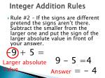 integer addition rules1