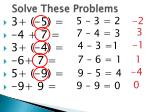 solve these problems1