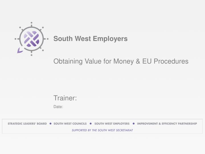 south west employers n.