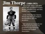 jim thorpe 1888 1953