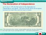 the declaration of independence2