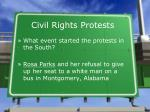 civil rights protests1