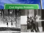 civil rights protests9