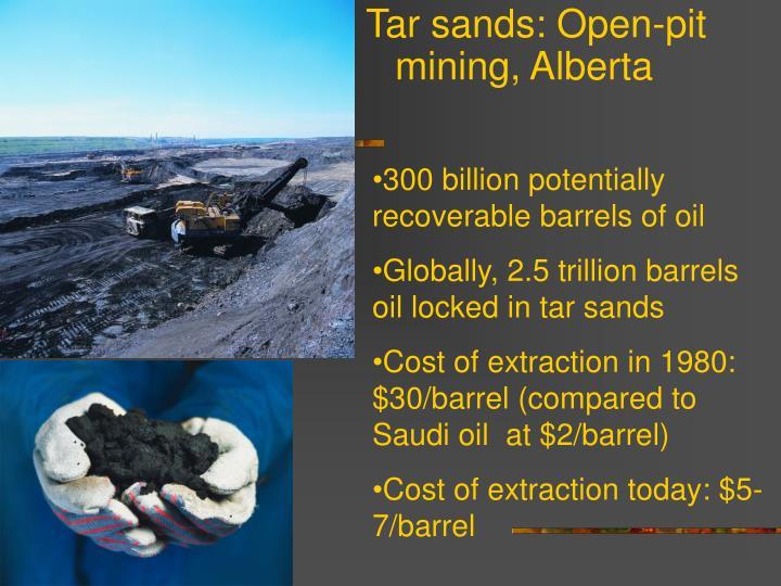 300 billion potentially recoverable barrels of oil