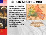 berlin airlift 1948