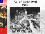fall of berlin wall 1989