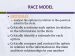 race model3
