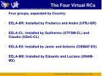 the four virtual rcs