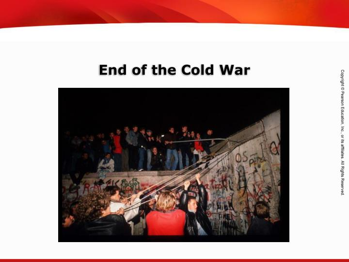 end of the cold war n.