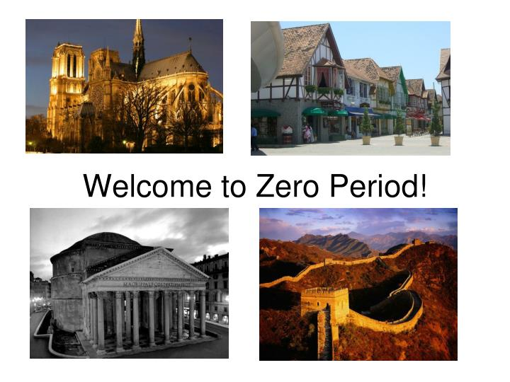 welcome to zero period n.