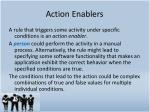 action enablers