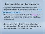 business rules and requirements4