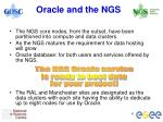 oracle and the ngs