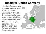 bismarck unites germany