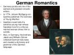german romantics