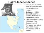 haiti s independence