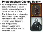 photographers capture reality