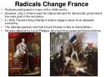 radicals change france