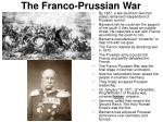 the franco prussian war