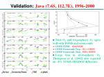 validation java 7 6s 112 7e 1996 20001