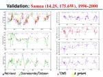 validation samoa 14 2s 175 6w 1996 2000