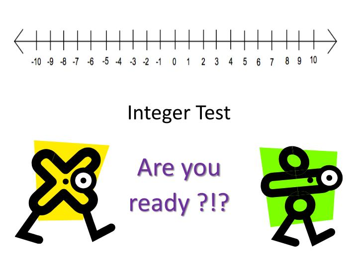 integer test n.