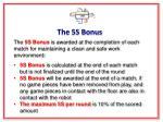 the 5s bonus