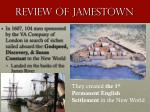 review of jamestown