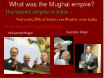 what was the mughal empire