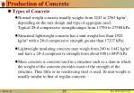 production of concrete1