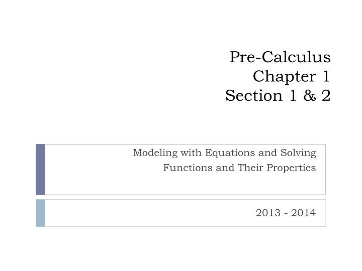 pre calculus chapter 1 section 1 2 n.