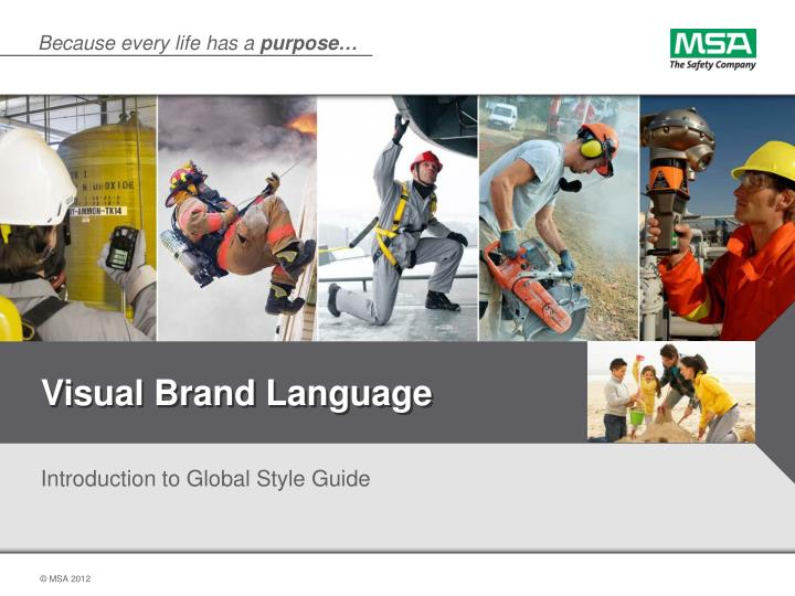visual brand language n.