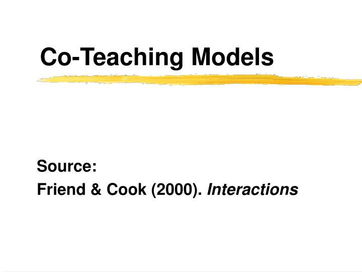 co teaching models n.
