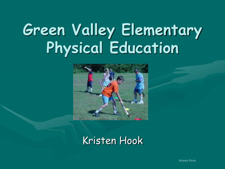 green valley elementary physical education n.
