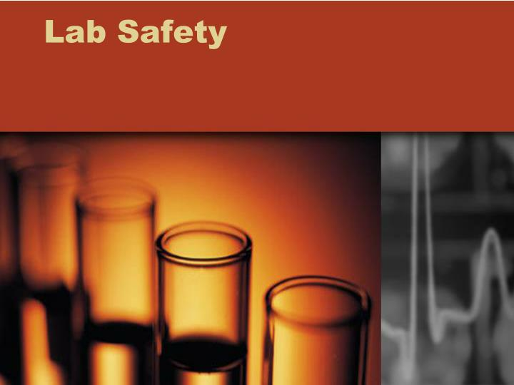 lab safety n.