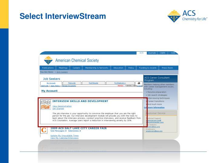 Select InterviewStream