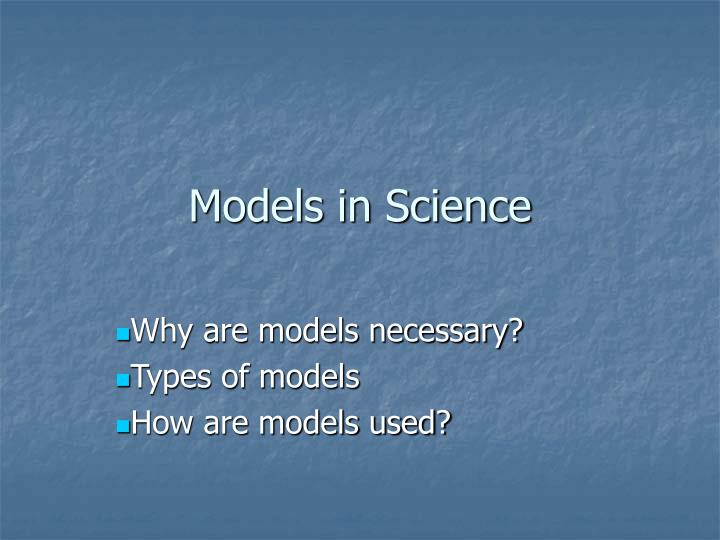 models in science n.