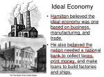 ideal economy