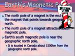 earth s magnetic poles