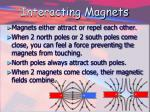 interacting magnets