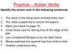practice action verbs