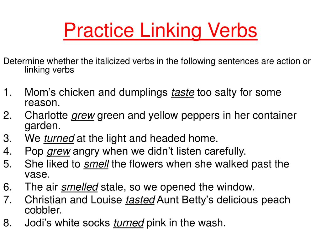Ppt Verbs What Are They And How Do We Use Them