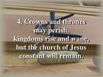 onward christian soldiers verse 4