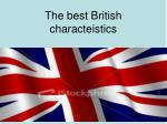the best british characteistics